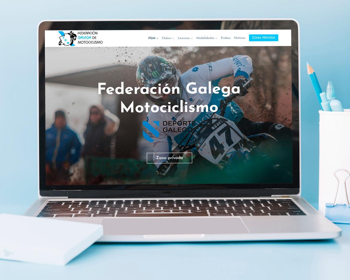 Federación Galega de Motociclismo: Nueva página web