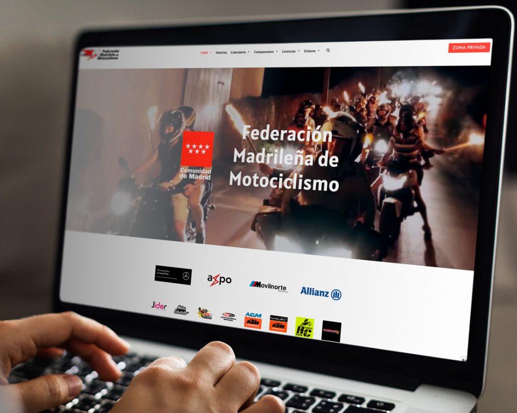 Web Federación Madrileña de Motociclismo